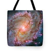 Southern Pinwheel Galaxy - Messier 83 -  Tote Bag