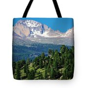 Southern Rockies Summer Mountains Tote Bag