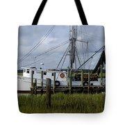 Southern Shrimpboat, Edisto Island, South Carolina  Tote Bag
