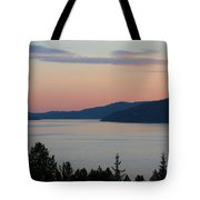 Southern Skies In Pink Tote Bag
