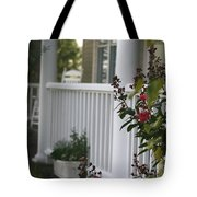 Southern Summer Flowers And Porch Tote Bag