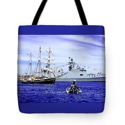 Southern Swan Cruising By Tote Bag