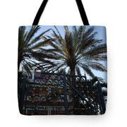 Southernmost Hotel Entrance In Key West Tote Bag