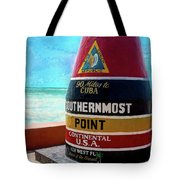 Southernmost Point Tote Bag