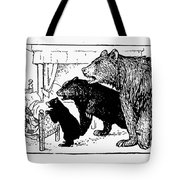 Southey: Three Bears, 1892 Tote Bag