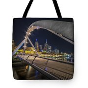 Southgate Bridge At Night Tote Bag