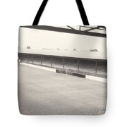 Southport Fc - Haig Avenue - Scarisbrick End 2 - Bw - Early 60s Tote Bag
