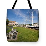 Southport Harbor Connecticut Tote Bag
