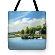 Southport Harbor Tote Bag