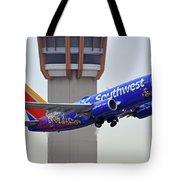Southwest 737-7l9 N7816b Coco Phoenix Sky Harbor November 30 2017 Tote Bag