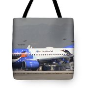 Southwest Ailines Seaworld Livery Tote Bag