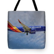 Southwest Airlines Boeing 737-76n Tote Bag