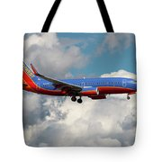 Southwest Airlines Boeing 737-700 Tote Bag
