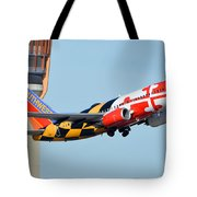 Southwest Boeing 737-7h4 N214wn Maryland One Phoenix Sky Harbor January 19 2016 Tote Bag