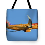Southwest Boeing 737-7h4 N781wn New Mexico One Phoenix Sky Harbor November 11 2017 Tote Bag