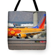 Southwest Boeing 737-7h4 N781wn New Mexico Phoenix Sky Harbor January 17 2016 Tote Bag