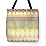 Southwest Cactus Decorative- Art By Linda Woods Tote Bag