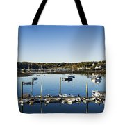 Southwest Harbor Maine Tote Bag
