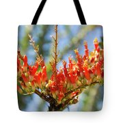 Southwest Ocotillo Bloom Tote Bag