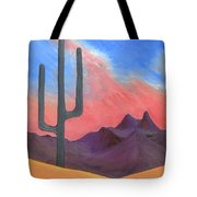 Southwest Scene Tote Bag