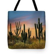 Southwest Sunset Tote Bag