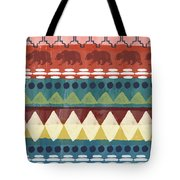 Southwest With Bears- Art By Linda Woods Tote Bag