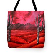 Southwestern Abstract Oil Painting Tote Bag