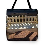 Southwestern Style Bench Tote Bag
