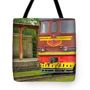 Soviet Era Train In Haapsalu Estonia Tote Bag