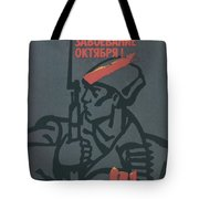 Soviet Russian Vintage Posters Tote Bag