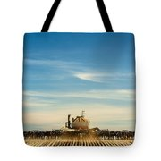 Sowing From Behind Tote Bag