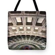 Space Age Underground  Tote Bag