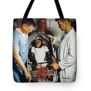Space: Chimpanzee, 1961 Tote Bag