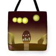 Space Door Tote Bag