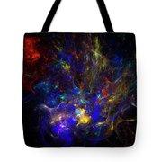 Space Flower Tote Bag
