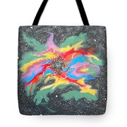 Space Garden Tote Bag