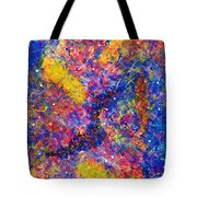 Space Glitter 15-14 Tote Bag