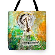 Space Needle 2016 Tote Bag