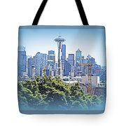 Space Needle 3 Tote Bag