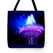 Space Needle Fireworks Tote Bag