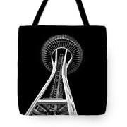 Space Needle Tote Bag by Rod Sterling