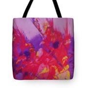 Space On Fire Tote Bag