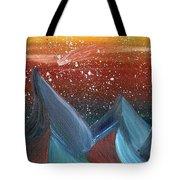 Space Scape Tote Bag