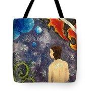 Space Serenity Tote Bag