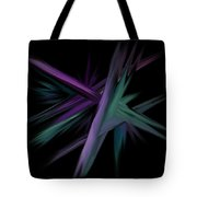 Space Shards Tote Bag