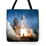 Space Shuttle Columbia - First Launch 1981 Tote Bag
