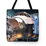 Space Shuttle Discovery View No. 2 Tote Bag