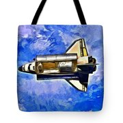 Space Shuttle In Space - Pa Tote Bag