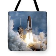 Space Shuttle Launching Tote Bag