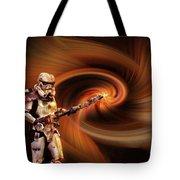 Space Soldier Tote Bag